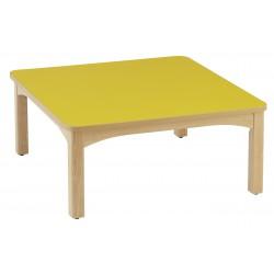 Table carrée 80 x 80 cm Wikicat