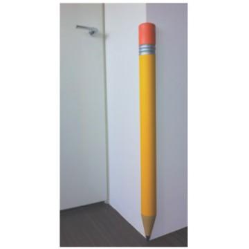 protection coin de mur stylo jaune cr che maternelle. Black Bedroom Furniture Sets. Home Design Ideas