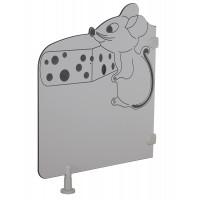 Séparation de toilette - souris
