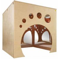 Maison Cube Miroir