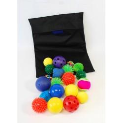 Kit 20 balles sensorielles