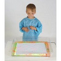Ensemble Tableau lumineux et bac transparent