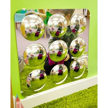 Miroir 9 dômes