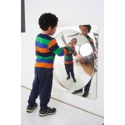 Grand miroir dôme