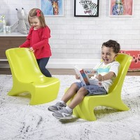 JUNIOR CHIC SET DE 2 CHAISES CITRON VERT PITIPA