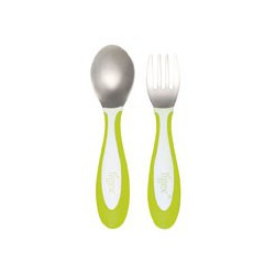 Set de 2 couverts inox