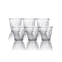 LOT DE 6 VERRES TRADITIONNEL 13 CL DURALEX