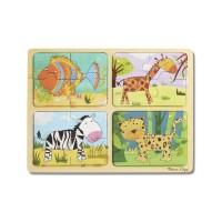 Puzzle des animaux