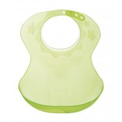 Bavoir plastique semi-rigide