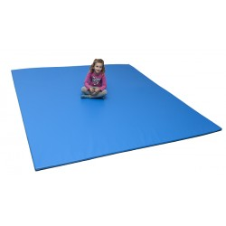 Tatami 200 x 100 x 2 cm bleu
