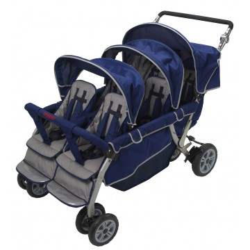 Stroller 6 places