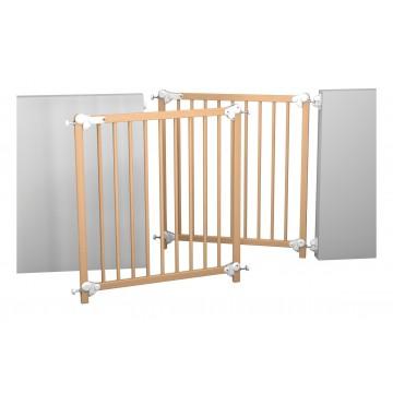 Barrière de sécurité bois 75,5 à 83 cm