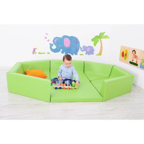 tapis parc en mousse avec 1 extension pitipa. Black Bedroom Furniture Sets. Home Design Ideas