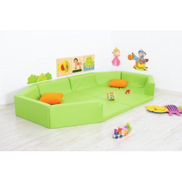 tapis parc en mousse avec 2 extensions pitipa. Black Bedroom Furniture Sets. Home Design Ideas