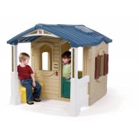 Maison avec porche d'entrée